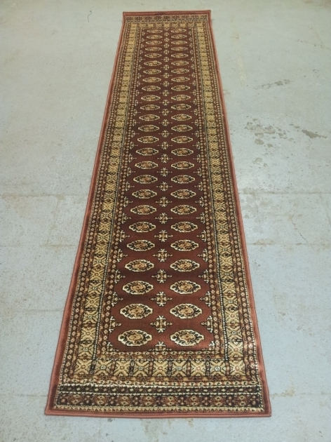 Extra Long Rug Runners With Traditional Aged Pattern Ornaments Pictures 43