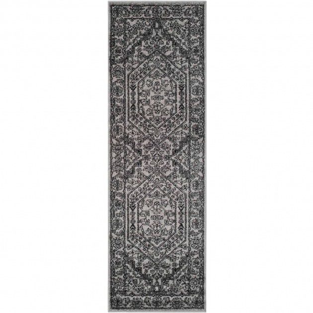 Grey 14 Foot Runner Rug Photo 23