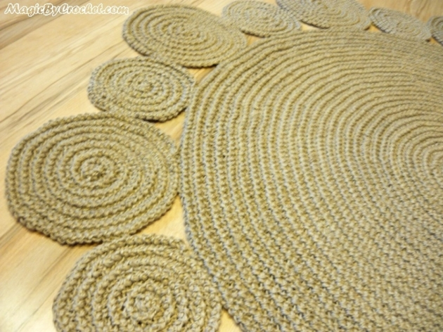 Handmade Braided Rugs Playful Jute Rug 5ft Round Image 67