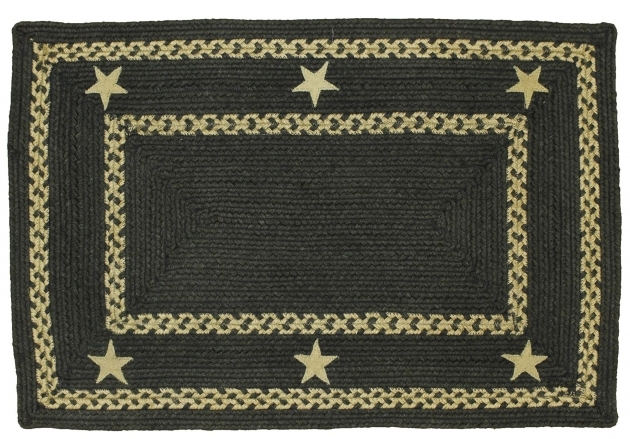 Hsd Texas Black Rectangular Braided Rugs Jute Rug Photo 45