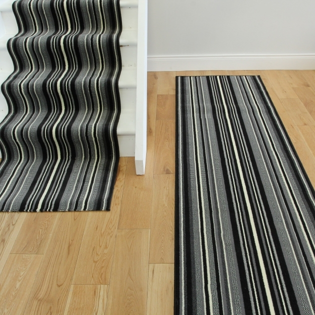 Lima Blackwhite Modern Custom Carpet Runners Photos 34
