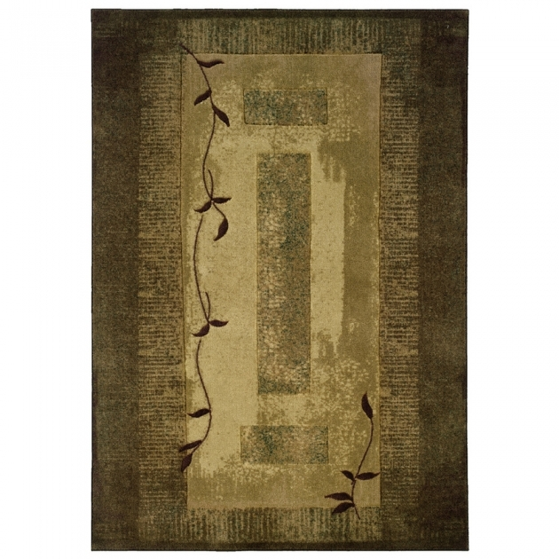Lowes Rug Runners Allen Roth Holder Green Rectangular Indoor Tufted Nature Picture 96