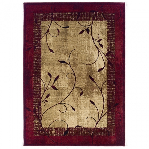 Lowes Rug Runners Allen Roth Tinsley Red Rectangular Indoor Woven Nature Area Pictures 48
