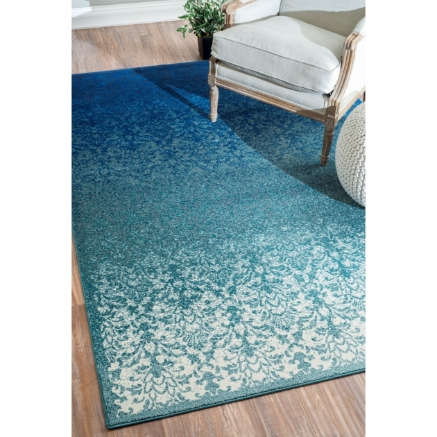 NuLOOM Crandall Turquoise Runner Rug Area Rugs CFDO01A  Images 14