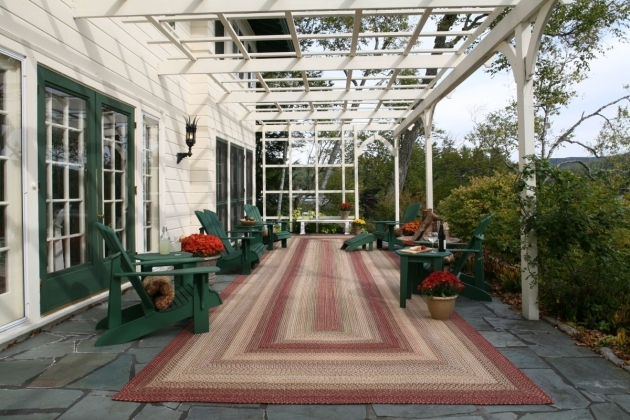 Outdoor Braided Rugs Barcelona RECT Trellis Patio Pic 81