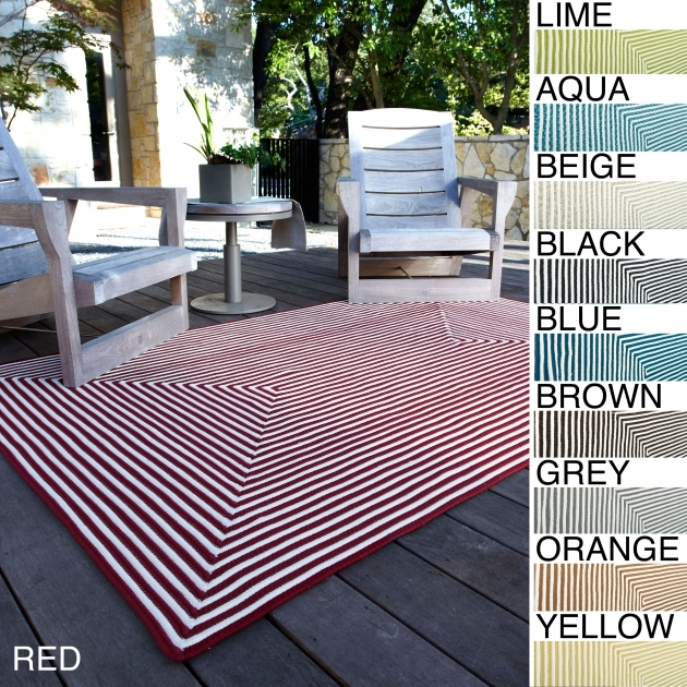 Outdoor Braided Rugs Red Aqua Lime Blue Grey Brown Beige Black Orange Yellow 76 X 96 Hand Braided Cromwell Indoor Outdoor Rug Image 11