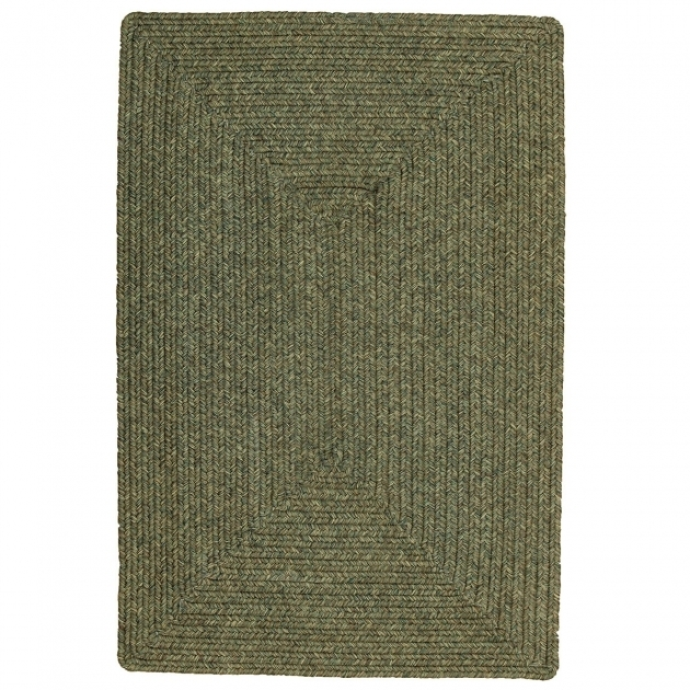 Outdoor Braided Rugs Spruce Green Photos 33