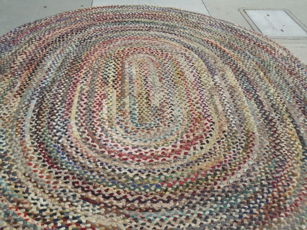 Oval Large Multicolor Wool Large Braided Rugs For Floor Decor Ideas Pictures 35