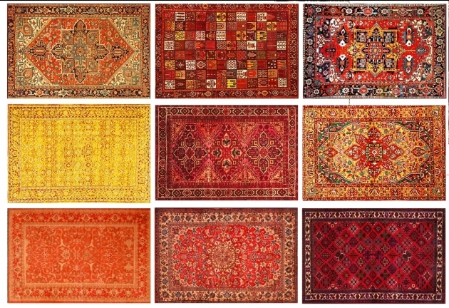 Persian Rug Designs Pattern Chenille Rugs  Image 08