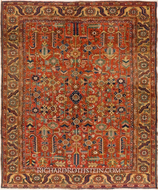 Rare Antique Antique Persian Rugs For Sale Pictures 13