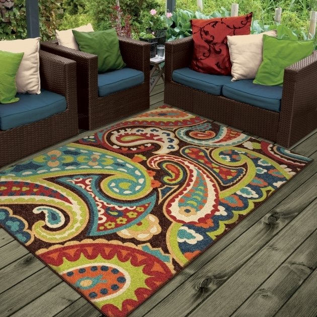 Threadbind Lydia Brown Indoor Outdoor Runner Rugs Area Rug THBD1232 Images 57