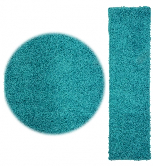 Turquoise Runner Rug And Round Ideas Novo Shaggy Executive Design Image 81