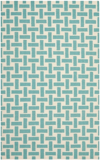 Turquoise Runner Rug Kids Bedroom Round White Wool Girl Area Rug Pictures 17