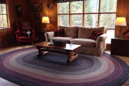 Large Braided Rugs