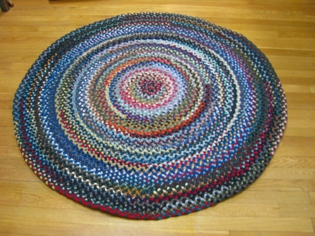 Wool Round Cheap Braided Rugs Images 43