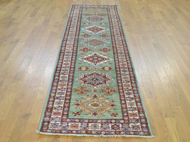2396quotx9397quot Teal Runner Tribal Design Handmade Oriental Rug Super Images 09