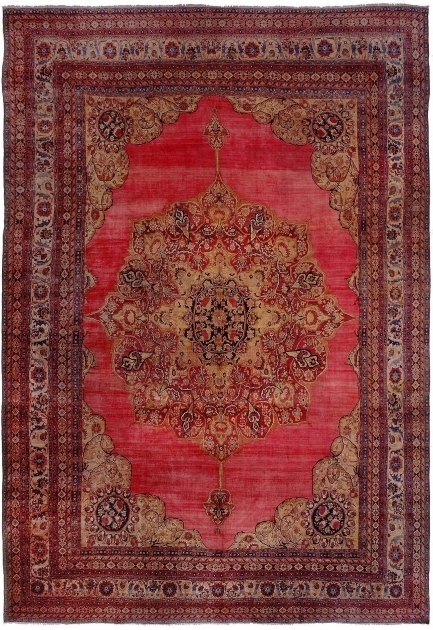 Antique Kerman Distressed Persian Rug Pictures 15