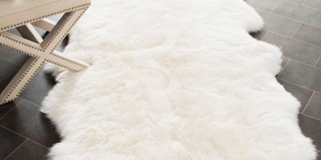 Best White Large Faux Sheepskin Rug 2017 Pictures 48