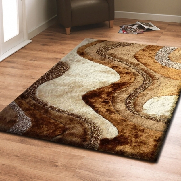 Brown Large Shag Area Rugs With Beige Living Room Area Rug Photo 18