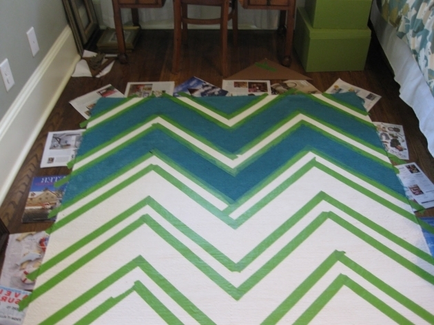Cheap Teal Chevron Runner Rug Photo 64