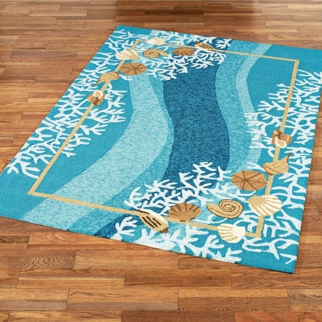 Coastal Runner Rugs Blue Images 59