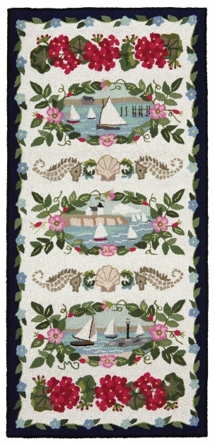 Coastal Runner Rugs Cape Cod Hand Hooked Runner Pictures 24