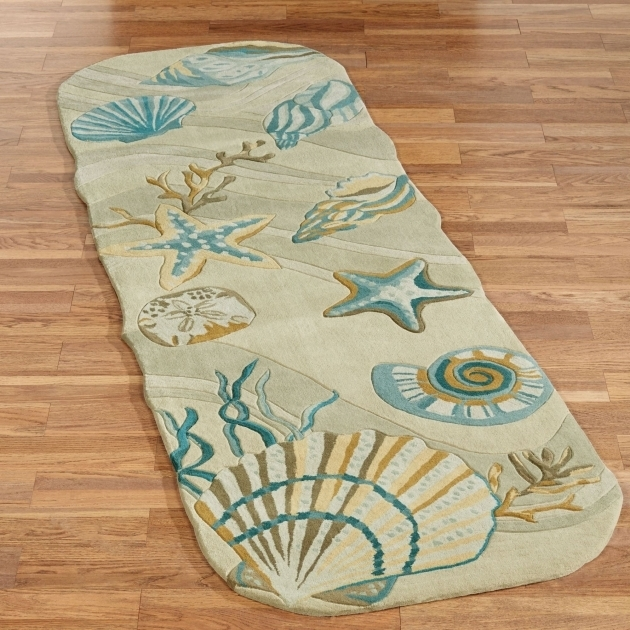 Coastal Runner Rugs Dream Seashell Area Rugs Photos 18