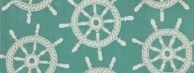 Coastal Runner Rugs Outfitting A Yacht Galley With Nautical Rugs Picture 03