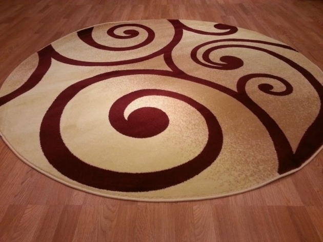 Contemporary Kitchen Large Round Area Rugs Images 23