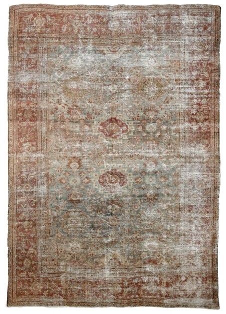 Distressed Persian Rug From Woven Accents Photo 75