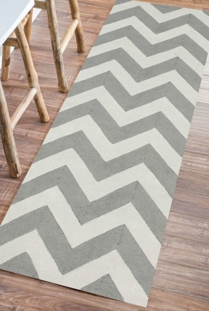 Gray Chevron Runner Rug Ideas White Area Rugs Picture 85