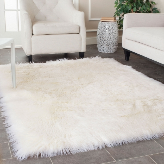 Large Faux Sheepskin Rug Area Rugs Pictures 00