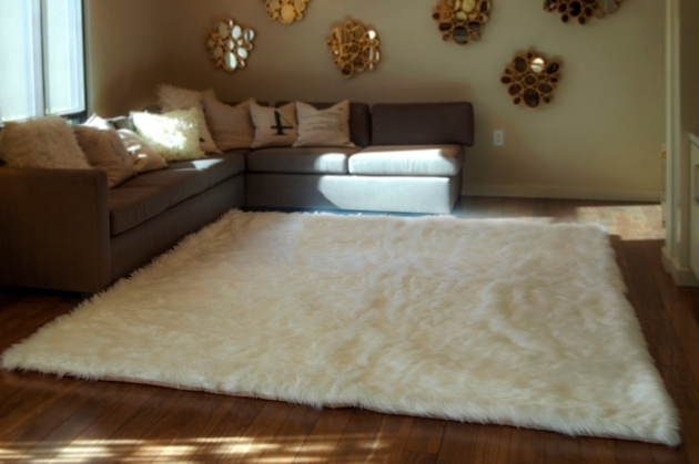 Large Faux Sheepskin Rug Decoration Pictures 98