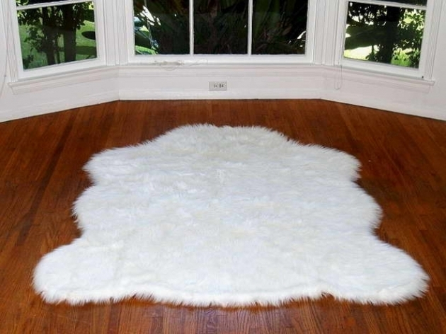 Large Faux Sheepskin Rug Interior Ideas White Faux Bear Ideas Images 83