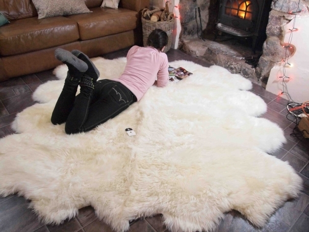 Large Faux Sheepskin Rug Transitional Area Rugs Pictures 54