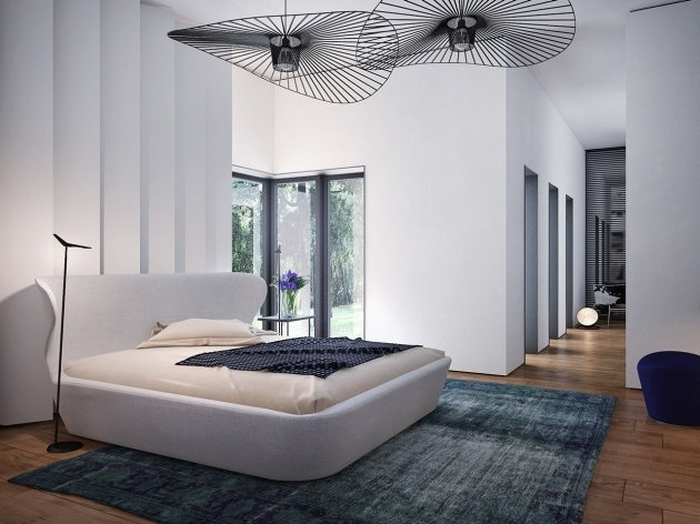Large Shag Area Rugs With Unique Bedroom Ceiling Fans In Contemporary Bedroom Themed Photo 65