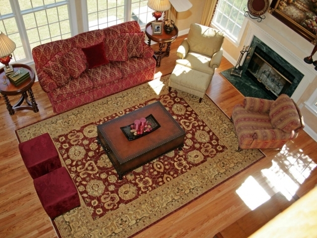 Large Throw Rugs Elegant Traditional Living Room With Red Sofa Ideas And Oriental Area Rug Picture 43