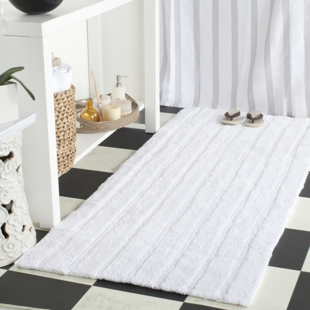 Large White Bathroom Rugs Design Picture 58