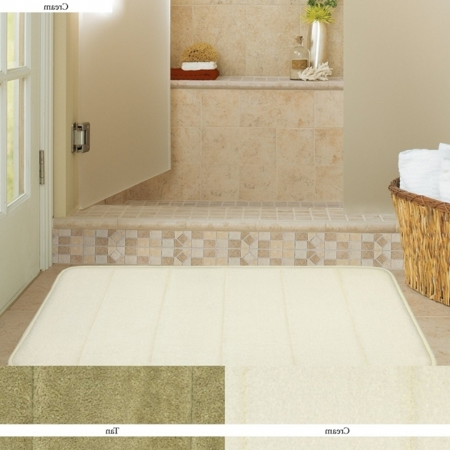 Modern Large White Bathroom Rugs Bath Mats Picture 86