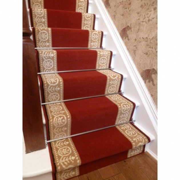 Motif Red Rug Runners For Stairs Photo 91