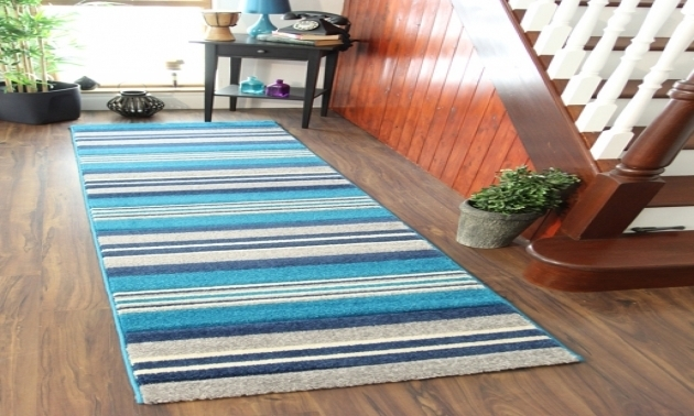 Navy Blue Teal Rug Runner Area Rugs Photo 78
