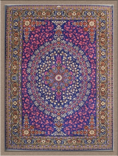 Purple Persian Rug Area Image 79