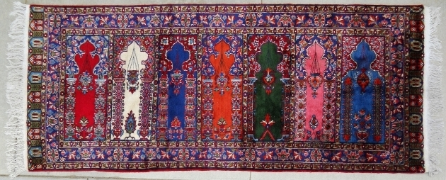 Purple Persian Rug Prayer Rug Retouched  Pictures 98