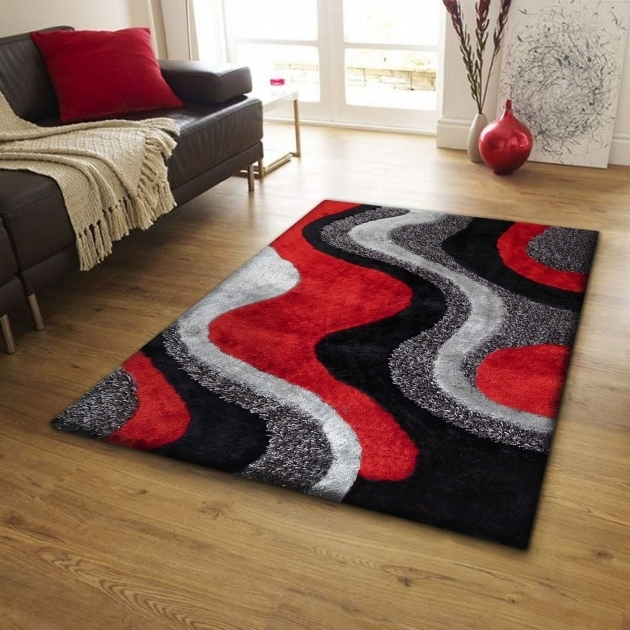 Red Black And Grey Large Area Rugs Under $200 Picture 53