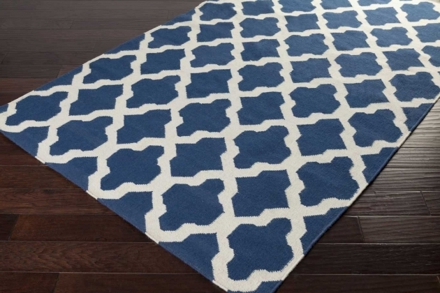 Square Large Blue Area Rugs And White Carpet Soft Thick Interior Room Photo 53