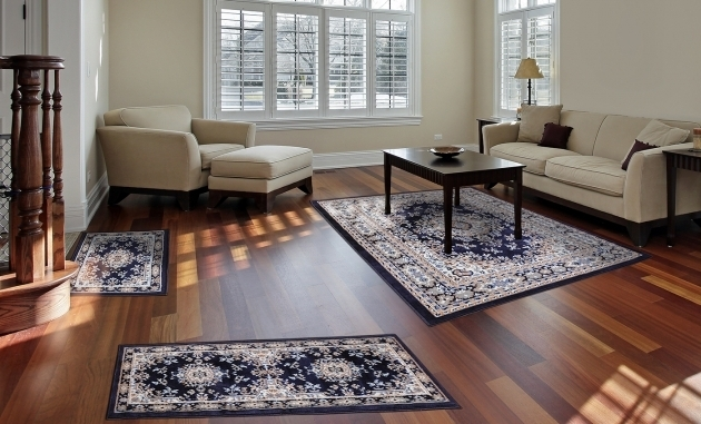 Traditional Medallion Persian 3 Pcs Rug Sets With Runner Images 11