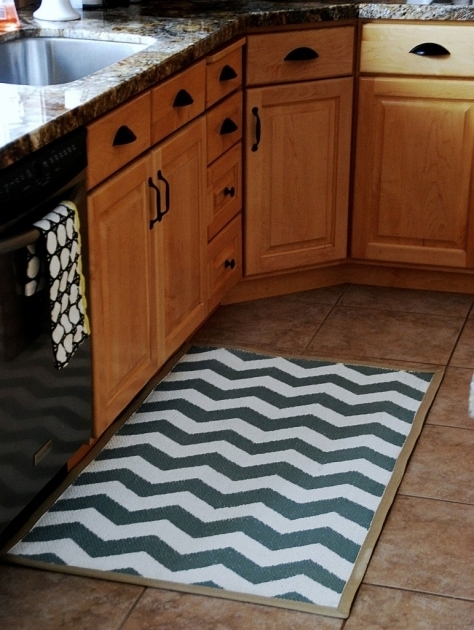 Washable Chevron Runner Rug Kitchen Images 72