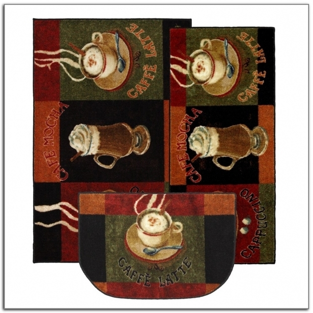 3 Piece Kitchen Rug Set Home Decorating Ideas Images 34