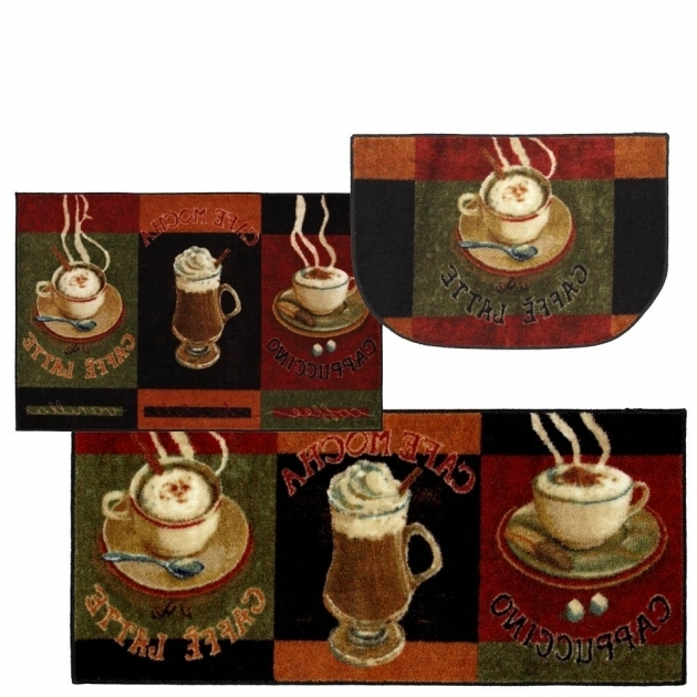 3 Piece Kitchen Rug Set Mohawk Home Caffe Latte Primary 18 In X 30 In Slice Kitchen Photo 31