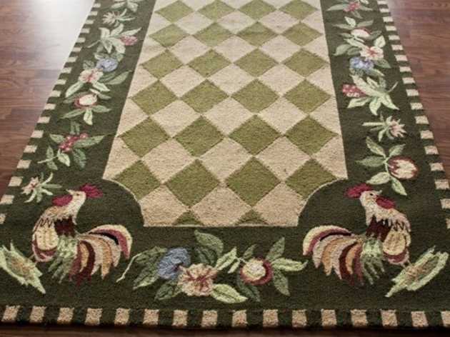 Accent Rooster Rugs For The Kitchen Design Ideas Photo 78